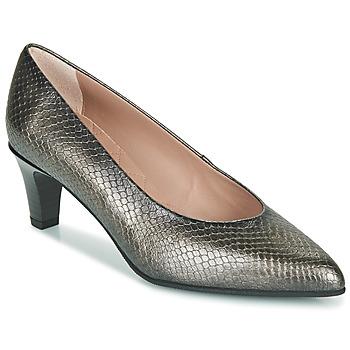 Schuhe Damen Pumps Hispanitas BELEN-5 Silbrig