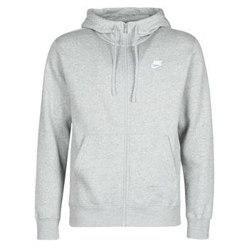 Vêtements Homme Sweats Nike M NSW CLUB HOODIE FZ BB Gris