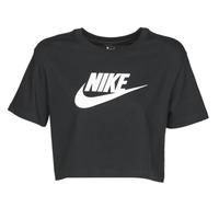 Kleidung Damen T-Shirts Nike W NSW TEE ESSNTL CRP ICN FTR