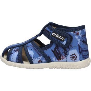 Chaussures Garçon Baskets mode Balocchi - Gabbietta blu 10440 BLU
