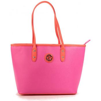Sacs Femme Cabas / Sacs shopping Christian Lacroix Sac Eternity 9 Fushia/Orange