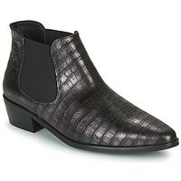 Chaussures Femme Boots Fericelli NANARUM Noir / argenté