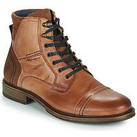 Schuhe Herren Boots Casual Attitude HOKES Braun,