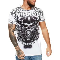 Vêtements Homme T-shirts manches courtes Cabin T-shirt Viking homme T-shirt 1488 blanc Blanc