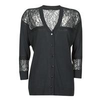 Vêtements Femme Gilets / Cardigans Guess IRENE CARDI SWTR Noir