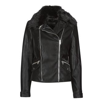 Vêtements Femme Vestes en cuir / synthétiques Guess CANTARA