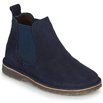 Schuhe Kinder Boots Citrouille et Compagnie HOVETTE Marineblau