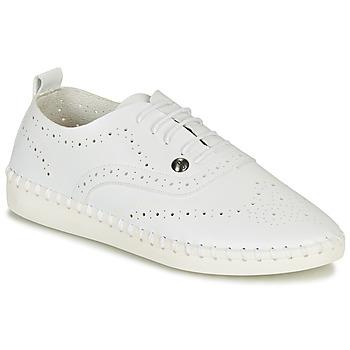 Schuhe Damen Leinen-Pantoletten mit gefloch Les Petites Bombes DIVA