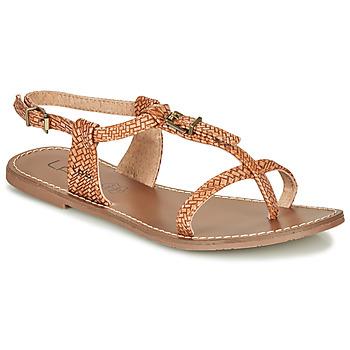 Schuhe Damen Sandalen / Sandaletten Les Petites Bombes ZHOEF Kamel