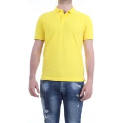 Vêtements Homme Polos manches courtes Sun68 A19106 Jaune