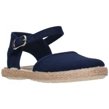 Chaussures Fille Espadrilles Batilas 45801 Niña Azul marino bleu