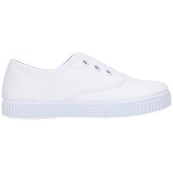 Chaussures Garçon Baskets basses Batilas 57701 Niño Blanco blanc