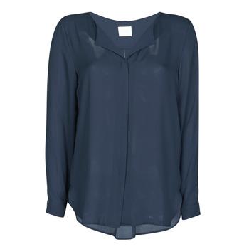 Kleidung Damen Tops / Blusen Vila VILUCY Marineblau