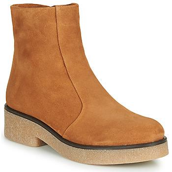 Schuhe Damen Boots Chie Mihara YETI Kamel