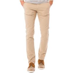 Vêtements Homme Chinos / Carrots Shilton Pantalon Pitt Crinkles Beige