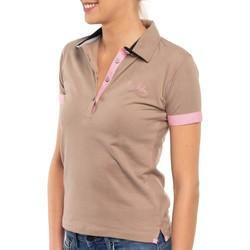 Vêtements Femme Polos manches courtes Shilton Polo lycra miss Beige
