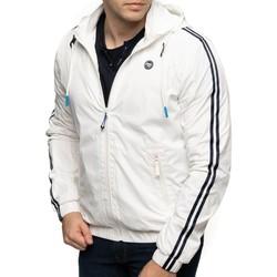 Vêtements Homme Coupes vent Shilton Coupe vente sport avec capuche Blanc