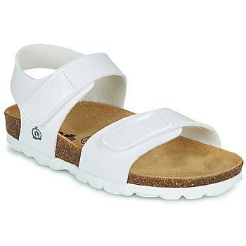 Schuhe Mädchen Sandalen / Sandaletten Citrouille et Compagnie BELLI JOE Weiß