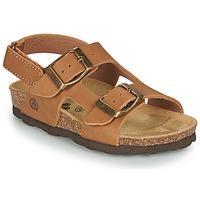 Schuhe Jungen Sandalen / Sandaletten Citrouille et Compagnie KELATU Braun,