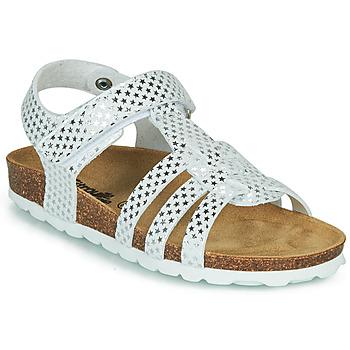 Schuhe Mädchen Sandalen / Sandaletten Citrouille et Compagnie MALIA Weiß