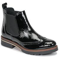 Chaussures Femme Boots Betty London NAVA Noir vernis