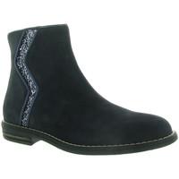 Chaussures Fille Boots Reqin's MARISSA Bleu