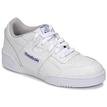 Schuhe Kinder Sneaker Low Reebok Classic WORKOUT PLUS Weiß