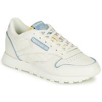 Schuhe Sneaker Low Reebok Classic CL LTHR Weiß