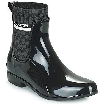 Chaussures Femme Bottes de pluie Coach RIVINGTON RAIN BOOTIE