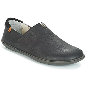 Schuhe Herren Slip on El Naturalista EL VIAJERO Schwarz