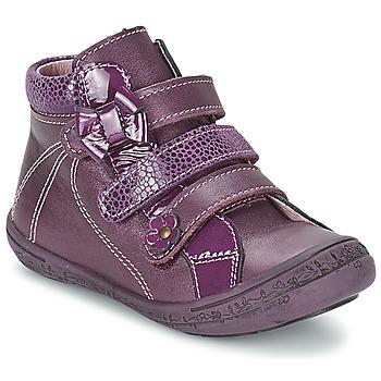 Chaussures Fille Baskets montantes Citrouille et Compagnie FALIE Violet