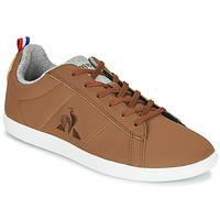 Schuhe Sneaker Low Le Coq Sportif COURTCLASSIC GS Braun,