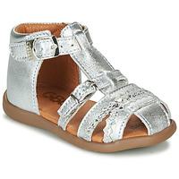 Chaussures Fille Sandales et Nu-pieds GBB ALIDA VTE ARGENT DPF/CRIC