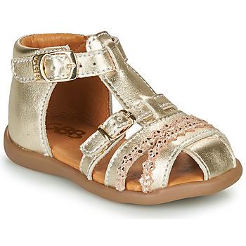 Schuhe Mädchen Sandalen / Sandaletten GBB ALIDA Golden