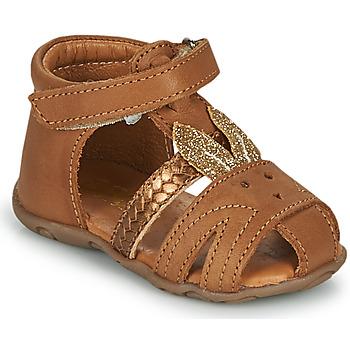 Schuhe Mädchen Sandalen / Sandaletten GBB FADIA Braun,