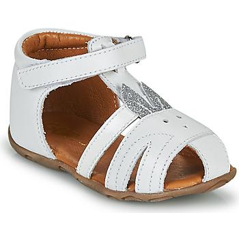 Chaussures Fille Sandales et Nu-pieds GBB FADIA VTV BLANC-ARGENT DPF/ZABOU