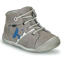 Chaussures Garçon Baskets montantes GBB ABRICO VTE GRIS DPF/RAIZA