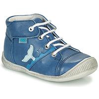 Chaussures Garçon Baskets montantes GBB ABRICO VTE MARINE DPF/RAIZA