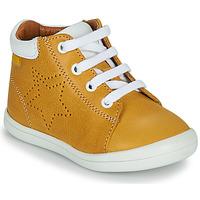 Chaussures Garçon Baskets montantes GBB BAMBOU VTE MOUTARDE DPF/TOODOU
