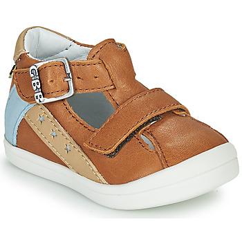 Chaussures Garçon Sandales et Nu-pieds GBB BERNOU VTE CAMEL DPF/TOODOU