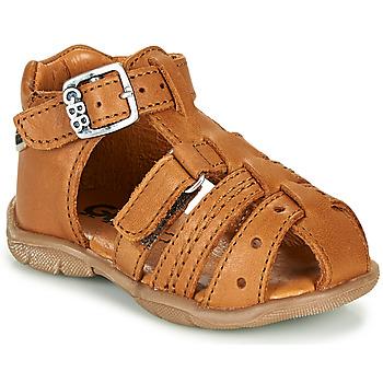 Chaussures Garçon Sandales et Nu-pieds GBB ARIGO VTE CAMEL DPF/FILOU