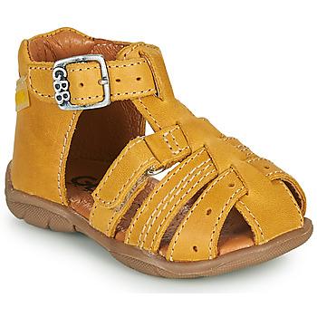 Chaussures Garçon Sandales et Nu-pieds GBB ARIGO VTE MOUTARDE DPF/FILOU