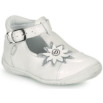 Chaussures Fille Ballerines / babies GBB EFIRA VTV BLANC NACRE DPF/KEZIA