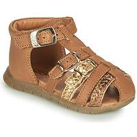 Schuhe Mädchen Sandalen / Sandaletten GBB PERLE Braun,