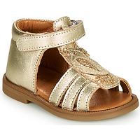 Schuhe Mädchen Sandalen / Sandaletten GBB FRANIA Golden