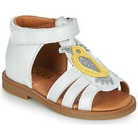 Chaussures Fille Sandales et Nu-pieds GBB FRANIA VTE BLANC DPF/2794