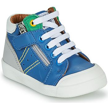 Chaussures Garçon Baskets montantes GBB ANATOLE VTE BLEU DPF/ROSARIO