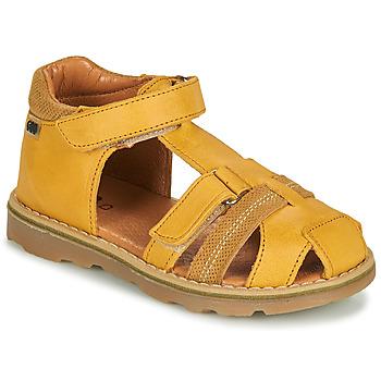 Chaussures Garçon Sandales et Nu-pieds GBB MITRI VTC MOUTARDE DPF/TRONY