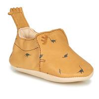 Schuhe Kinder Hausschuhe Easy Peasy BLUMOO Kognac