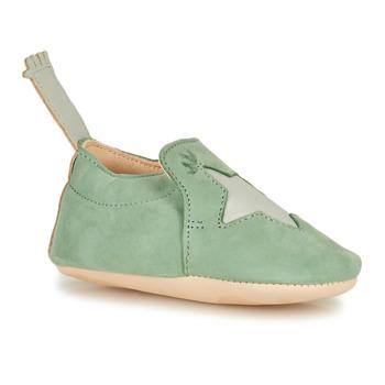 Chaussures Enfant Chaussons Easy Peasy BLUMOO ETOILE NUB HARBOR GREY MOU/CUIR